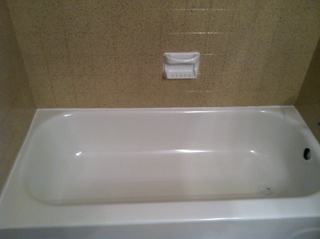 Porcelain Tub and Tile
